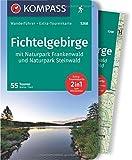 Fichtelgebirge mit Naturpark Frankenwald und Naturpark Steinwald: Wanderführer mit Extra-Tourenkarte, 55Touren, GPX-Daten zum Download. (KOMPASS-Wanderführer, Band 5268) - Walter Theil