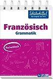 Pocketblock Französisch Grammatik: Gute Noten mit der Schülerhilfe