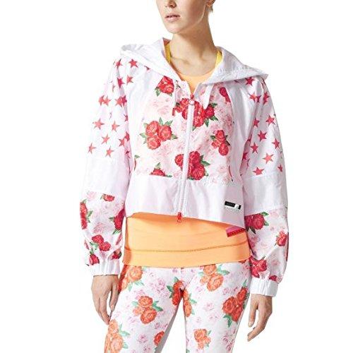 adidas Damen Sc Rose Jacket Jacken, Weiß, S
