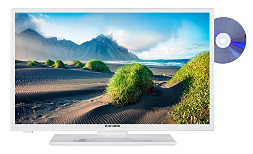 fernseher mit integriertem dvd Telefunken XH28D101D-W 72 cm (28 Zoll) Fernseher (HD Ready, Triple Tuner, DVD-Player)