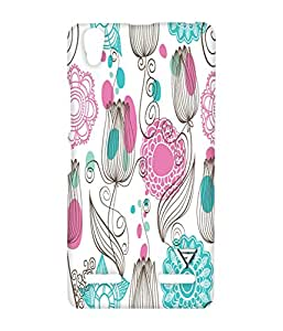 Vogueshell Nice Pattern Printed Symmetry PRO Series Hard Back Case for Lenovo A6000