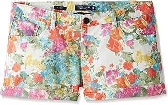 Tokyo Talkies Women's Cotton Shorts (TTV8000029_Aqua Blue_34)