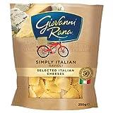 Giovanni Rana Simply Italian Ravioli Selected Italian Cheeses Pasta, 250g