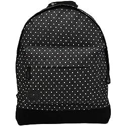 Mi-Pac Premium, Mochila Tipo Casual, 41 cm, 17 litros, Spot Black/White