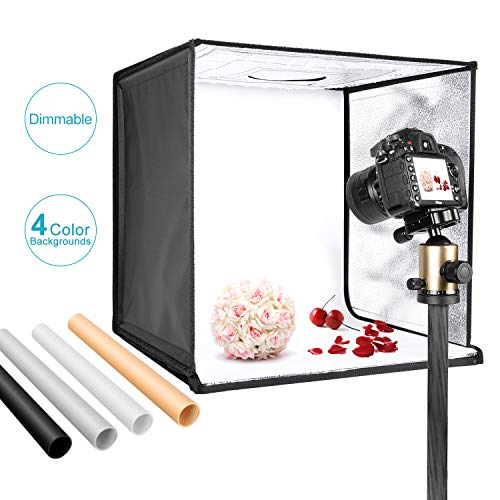 Neewer Foto Estudio Caja Luz 40cm Disparo Carpa Brillo