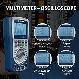 LM2001 Oszilloskop Multimeter, LIUMY Handoszilloskop Automatisches Wellenform-Multimeter, Vielseitiges intelligentes Multimeter / 2KHz ~ 200KHz Frequenz, 2000 Zählimpuls Digital