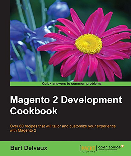 Book's Cover of Magento 2 Development Cookbook