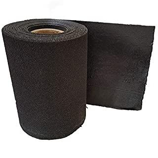 Roofing Felt Shingles   Roll Out Ridge Roll   Shed Roof Felt   5 Colours   Free Adhesive   10m (Midnight Black)