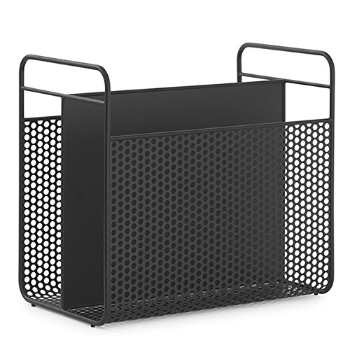 Analog Magazine Rack Black H: 38,2 x L: 41,6 x D: 23,5 cm