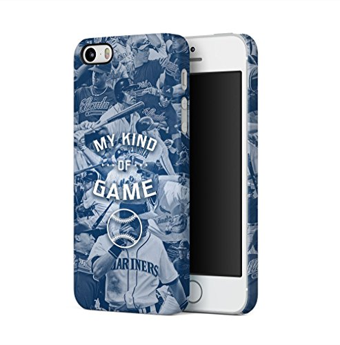 Baseball Is My Kind Of Game Apple iPhone 5 / iPhone 5S / iPhone SE SnapOn Hard Plastic Phone Protective Fall Handyhülle Case Cover Iphone 5 Fall-hockey