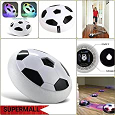 Supermall New Magic Air Hover Football Toy, Indoor Play,White Best Quality