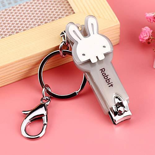 Schlüsselbund Anhänger Kreative Neue Gelee Nagelknipser Kaninchen Niedlichen Cartoon Nagel Messer Gadget Schlüssel Schnalle Tasche D -