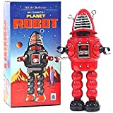 Sparking Planet Robot (Colours may vary) - Tin Collectable
