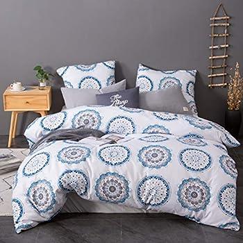 Bettwäsche Set Bettbezug Und Kissenbezug Moderne Drucken
