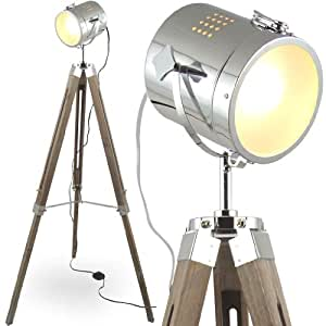mojo stehleuchte tischleuchte tripod stehlampe tischlampe dreifuss lampe industrial design sel. Black Bedroom Furniture Sets. Home Design Ideas