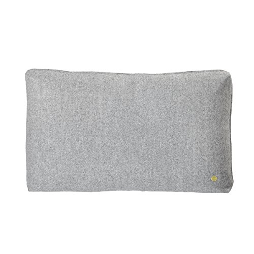 Wool Cushion – Light Grey