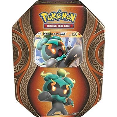 Pokébox Noël 2017 Boîte métal Pokémon Marshadow Gx Version française