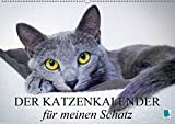 Der Katzenkalender für meinen Schatz (Wandkalender 2018 DIN A2 quer): Besinnliche und heitere Lebensweisheiten für Katzenliebhaber (Monatskalender, 14 ... [Kalender] [Apr 01, 2017] CALVENDO, k.A.
