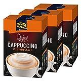 Krüger Dolce Vita Cappuccino, Cremig-Zart, Milchkaffee, Milch Kaffee aus löslichem Bohnenkaffee, 30 Portionsbeutel