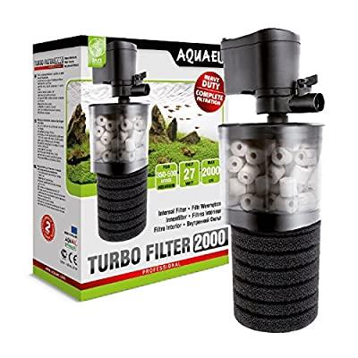 Aquael Turbo Filter for Freshwater Aquariums High-performance Mechanical and Biological Filtration by Aquael
