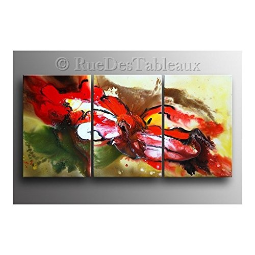 Aufgelöster Clown - Tabelle malt Hand Ölmalerei (Tabelle Clown)