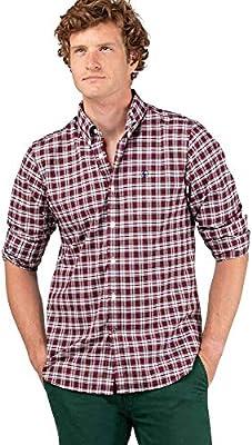 El Ganso 1 Camisa casual, Rojo (Rojo 0053), edium para Hombre