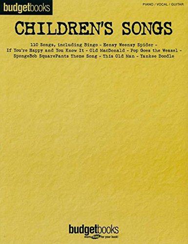 Children's Songs (Budget Books)