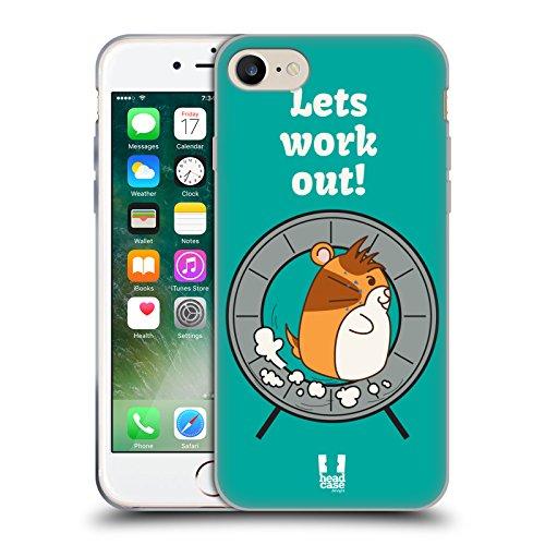 Head Case Designs Loup Animaux Aztèques 3 Étui Coque en Gel molle pour Apple iPhone 7 / iPhone 8 Roue