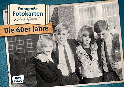 Die 60er Jahre - Extragroße Fotokarten zur Biografiearbeit