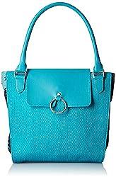 Baggit Women's Handbag (Aqua) (2059600)