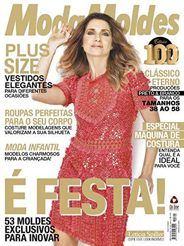 Moda Moldes Ed 100 (Portuguese Edition) de [Editora, On Line]