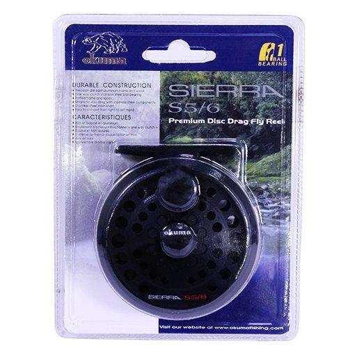Okuma Sierra Fly Reel, Size 5/6 by Okuma
