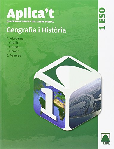 Aplica't. Quadern de suport al llibre digital. Geografia i història 1er ESO - 9788430788767