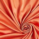 Fabulous Fabrics Crêpe Chiffon Stoff Uni - orange -