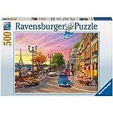 Ravensburger - Puzzles 500 piezas, diseño En París (14505 1)