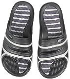 Aqua Speed Set - TAHITI Ciabatte da doccia + Asciugamano in microfibra   Uomini   Pantofole da bagno   Ciabatte da spiaggia, Taglia:45, Colore:TAHITI - 07
