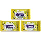 Wippee 30N Usable Baby Wipes With Almond Oil ( Pack Of 3)