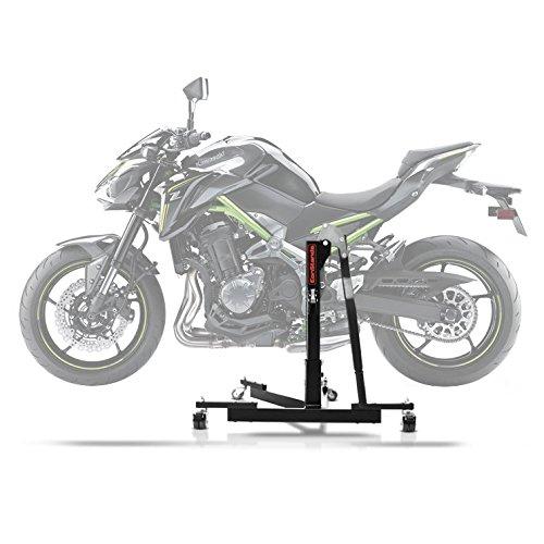 ConStands Power Evo-Zentralständer Kawasaki Z 900 17-19 Schwarz Motorrad Aufbockständer Montageständer Heber -