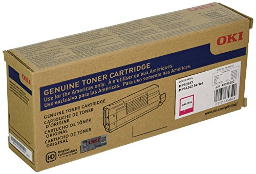 Serie 10000 Page-yield (Okidata Magenta 10000 Page Yield Toner Cartridge for MPS3537MC MPS4242MC Series 45396222 by Oki Data)