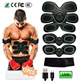 Best Ab Toner Belts - HONITURE Muscle Stimulator, EMS Abs Trainer Abdominal Belt Review