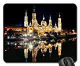 The Basilica?¡ìCCathedral of Our Lady of the Pillar Mouse Pad, Mousepad (Religious Mouse Pad)