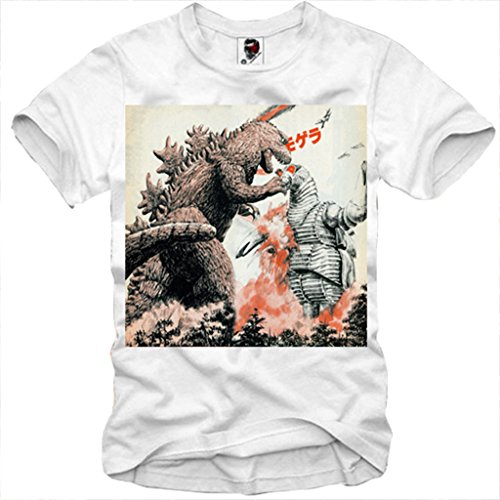 E1SYNDICATE T-SHIRT GODZILLA GOJIRA JAPAN ANIME MANGA KING KONG COSPLAY