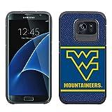 NCAA West Virginia Mountaineers True Grip Football Pebble Grain Feel Samsung Galaxy Alternate S7 Edge Case
