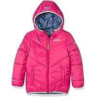 Regatta Icebound - Giacca Impermeabile Per Bambina, Colore Rosa, Taglia 3-4 Anni