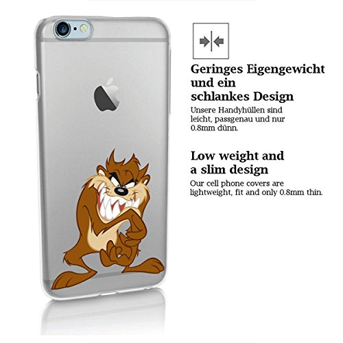 Custodia rigida looney tunes taz serie 2 iPhone - TAZ Aggressivo, Iphone 5/5S TAZ SCHMIEDET PLAN