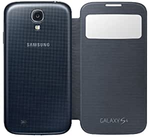Samsung S-View Flip Cover for Galaxy S4 (Black)