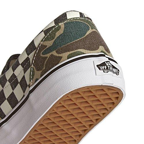 Vans - U Era Navy, Sneakers unisex Marrone