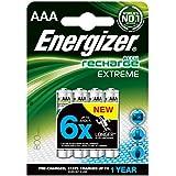 Energizer 628941 - Pilas recargables extreme aaa x4 635751