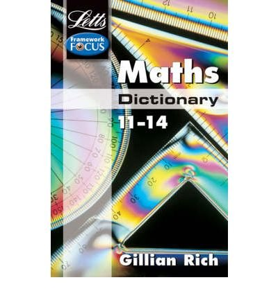 Maths Dictionary Age 11-14 (Letts Key Stage 3 Subject Dictionaries) (Paperback) - Common