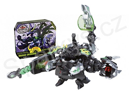 Bakugan Ultimate Weapon Exclusive Deluxe Figure Dharak Colossus - Spin Master